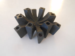 Danish Modern Brutal Taper Candle Holder