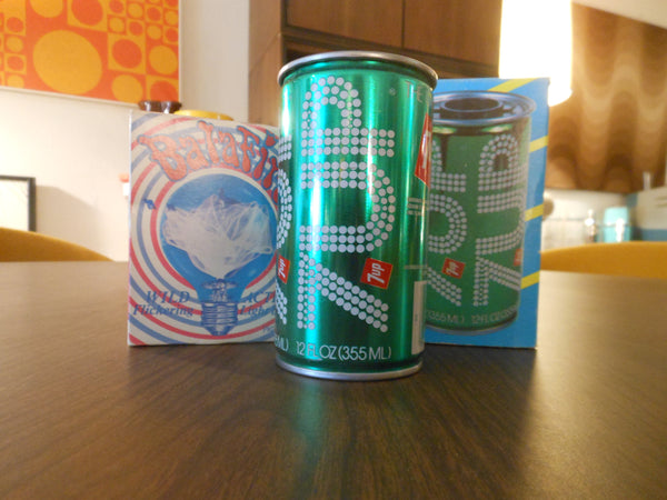 7 Up Novelty Can Light and Flicker Bulb
