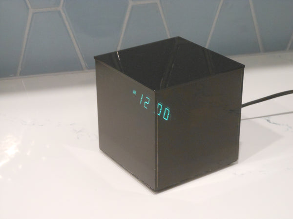 Mod Acrylic Cube Digital Clock