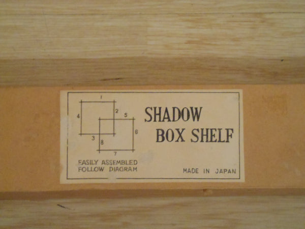 Simple Wood Shadow Box Kit