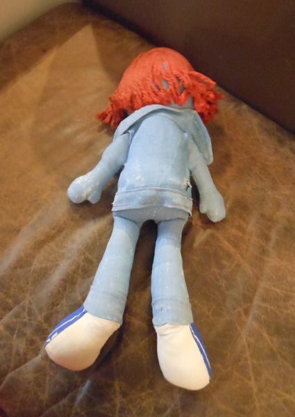 1970's Knicker-Bocker Levi's Denim Doll