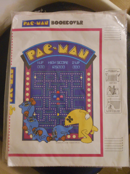 1980's Pac-Man Book Covers
