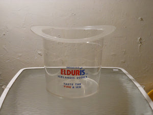 Elduris Icelandic Vodka Acrylic Ice Bucket