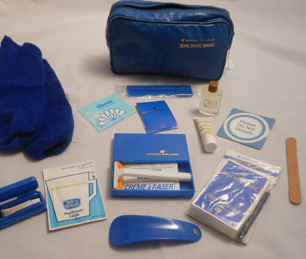 United Airlines Personal Kit