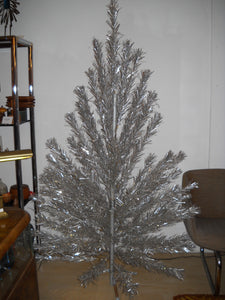 Silver Forest Aluminum Tree