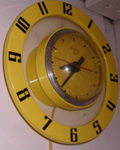 Atomic Telechron Wall Clock