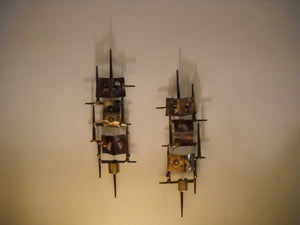 Brutal Metal Wall Sconces