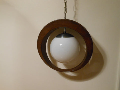 Vintage Danish Modern Hanging Light