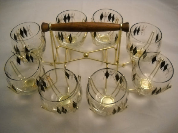Set of 8 Roly Poly Glasses