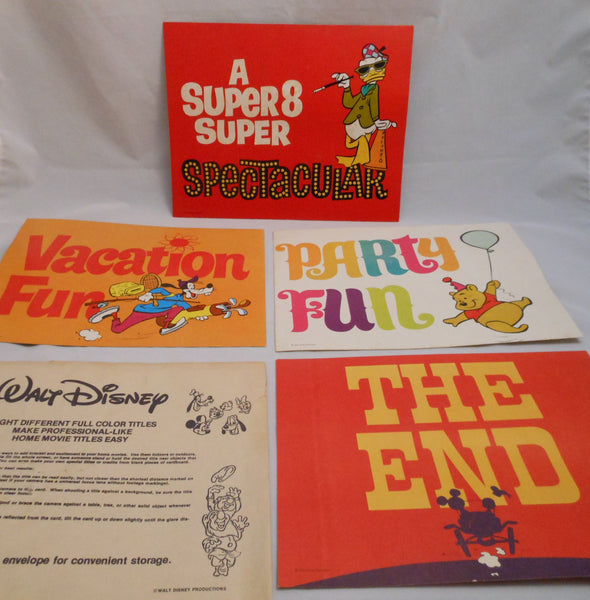 1970 Walt Disney Color Titles