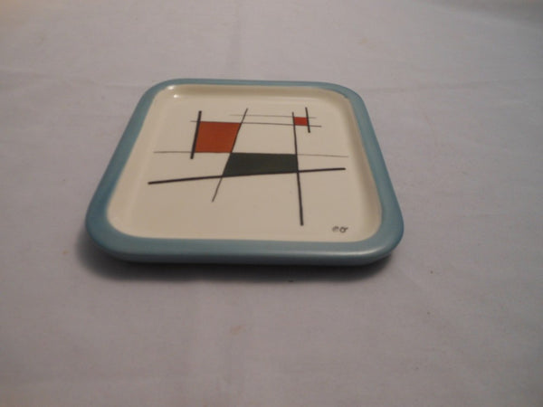 Hand Painted Pottery Plate