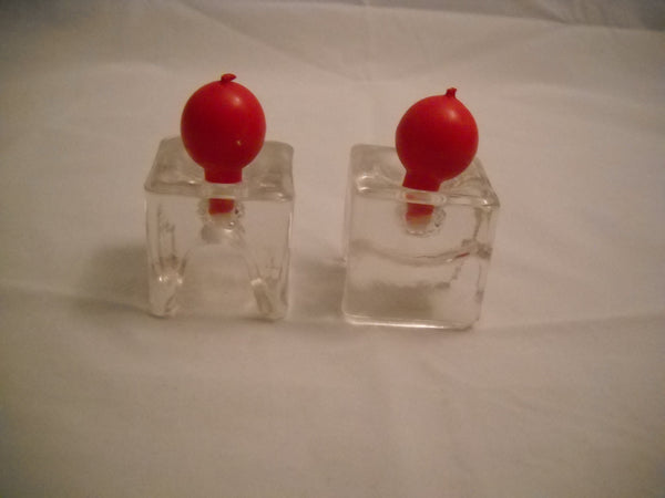 Modern Glass Candle Holders / Napkin Rings