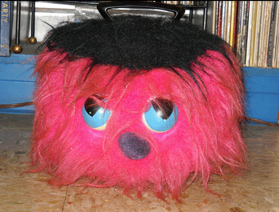 70s Disc-Go Fuzzy Monster Record Holder