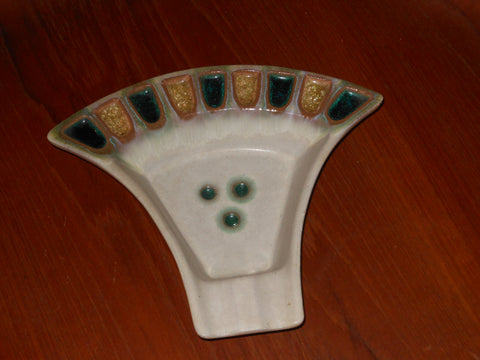 Sheldon Gants Art Pottery Ashtray