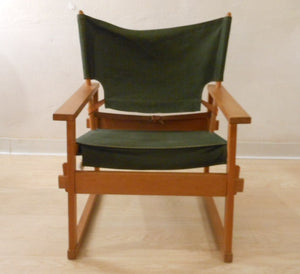Poul Hundevad Canvas Safari Chair
