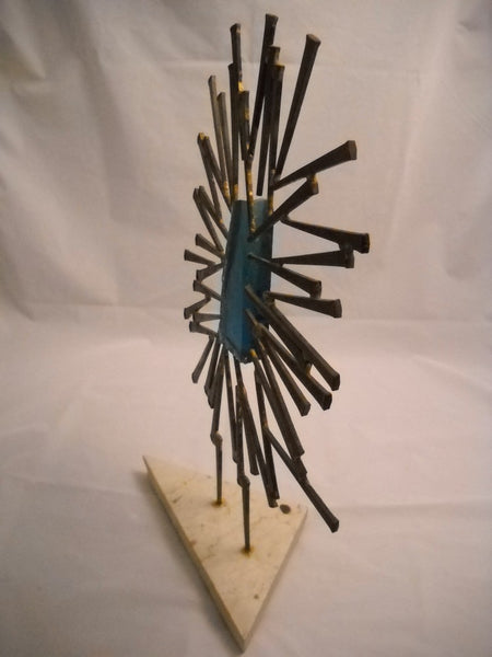 Modern Mixed Media Sculpture