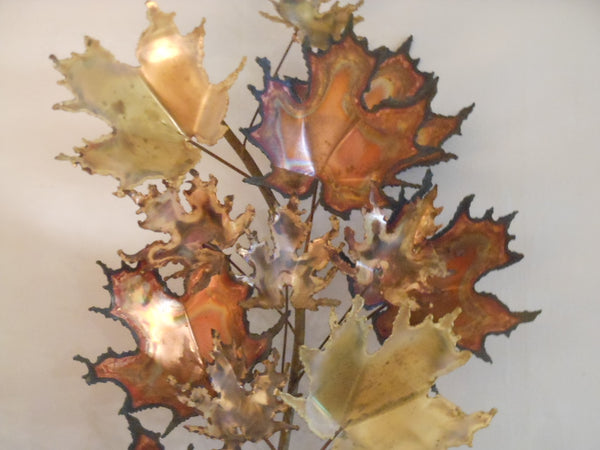 C. Jere Maple Leaves Wall Sculpture