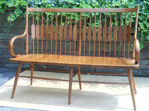 Kipp Stewart Walnut Bench