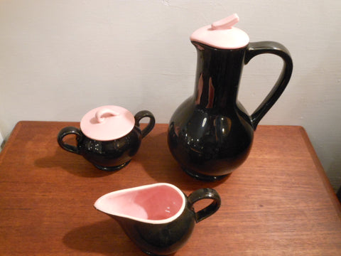 McCoy Pottery Coffee Service