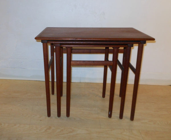 Danish Teak Nesting Tables