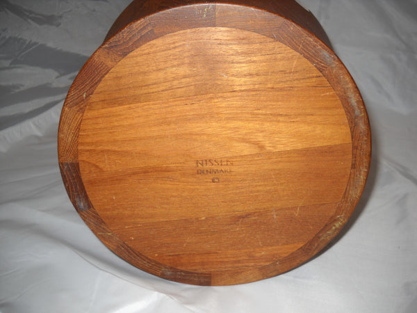 Danish Nissen Teak Bowl