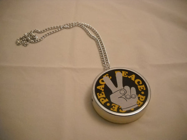 1971 Peace Radio Necklace