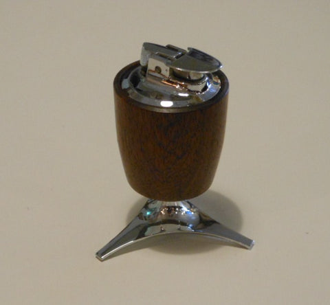 Ronson Walnut Table Lighter
