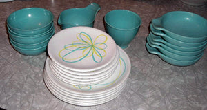 Russel Wright Melamine Set