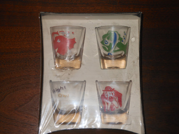 Federal Glassware Shot Glasses Set