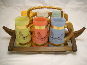 Siesta-ware Hawaiian Mugs
