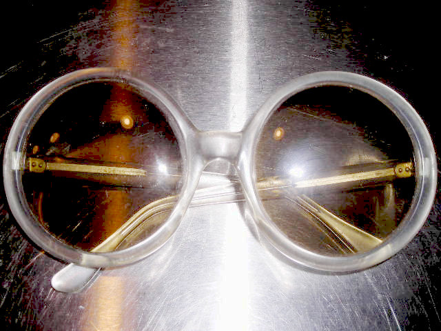 Italian BIG Lucite Sunglasses