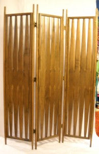 Danish Modern Folding Screen