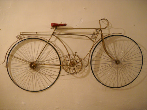 Jere Bicycle Wall Sculpture