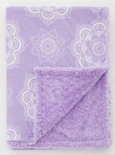 Load image into Gallery viewer, Orchid Mandala Child Blanket