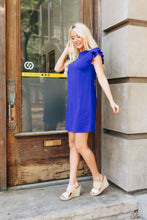 Load image into Gallery viewer, Look Like Royalty Dress In Royal Blue - Boho Valley Boutique