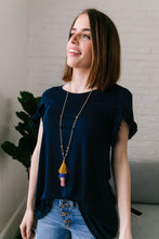 Load image into Gallery viewer, Tiered Tassel Necklace