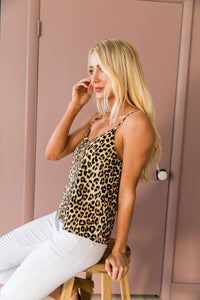 Wild Side Leopard Cami - Boho Valley Boutique