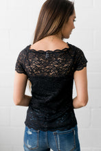 Load image into Gallery viewer, Arsenic + Lace Shoulder Blouse - ALL SALES FINAL - Boho Valley Boutique