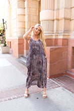 Load image into Gallery viewer, Bamboo Forest Tie Dye Maxi Dress - Boho Valley Boutique