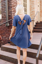 Load image into Gallery viewer, Blue Bow Dress