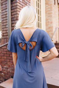 Bows Of Blue Dress