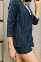 Load image into Gallery viewer, Business Casual Pinstriped Blazer - Boho Valley Boutique