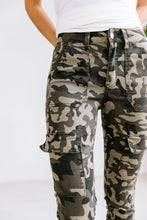 Load image into Gallery viewer, Camo Cargo Jeans - Boho Valley Boutique