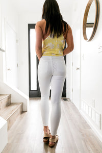 Carte Blanche White Jeans - Boho Valley Boutique