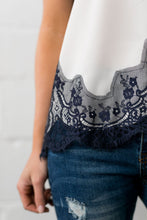 Load image into Gallery viewer, Chantilly Lace Camisole - ALL SALES FINAL - Boho Valley Boutique