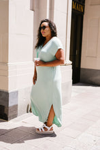 Load image into Gallery viewer, Chillax Summer Maxi In Sage - Boho Valley Boutique