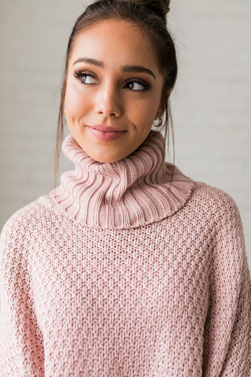 Chunky Cowl Neck Sweater - ALL SALES FINAL - Boho Valley Boutique