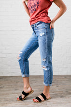 Load image into Gallery viewer, Collateral Damage Boyfriend Jeans - Boho Valley Boutique