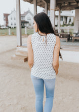 Load image into Gallery viewer, Cross Roads Sleeveless Blouse