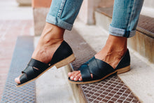 Load image into Gallery viewer, Crossroads Slip-On Sandals